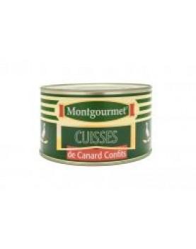 Pulpe de rata confiate (Confit de Canard) 4 pulpe, 1,350 Kg
