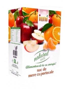 Suc Natural de Mere si Portocale 3L