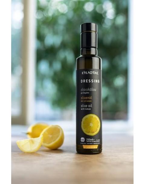 Ulei de masline extravirgin cu lamaie 250 ml