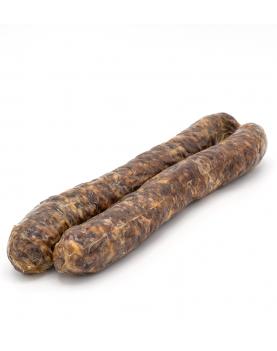 Carnati de casa din carne de cerb
