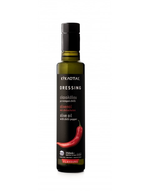 Ulei de Masline Extra Virgin cu chilli 250ml